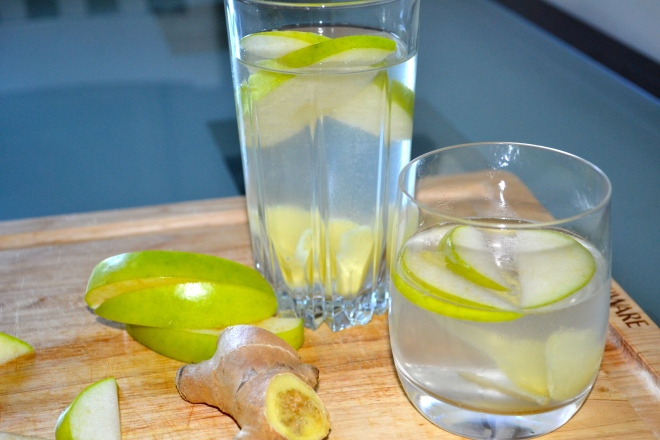 Ginger Apple Seltzer